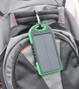 waterproof solar custom logo power bank