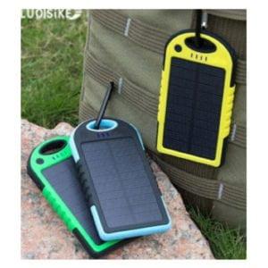 Waterproof Solar imprinted Power Bank 1