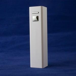 white stick logo portable charger