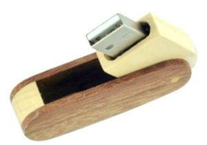 wood swivel promo usb