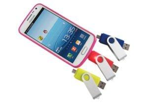 usb phone compatible logo flash drives