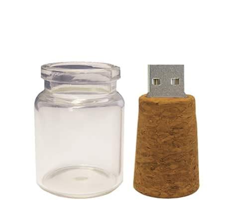 Glass Jar USB