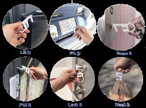 Hygiene Hook Key 3-action v2