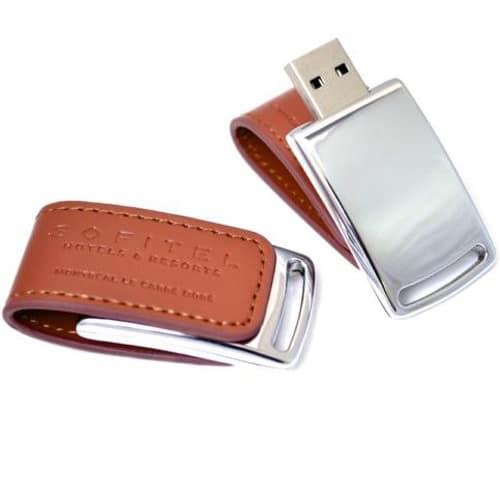 Leather Magnetic 02 Custom USB