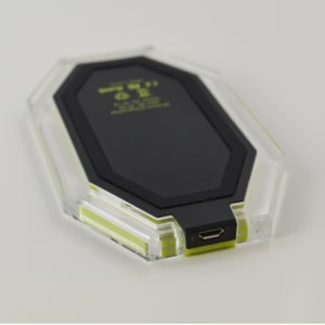 The Storm printed logo wireless charger