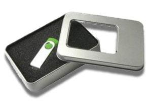 Rectangular Metal Window Tin