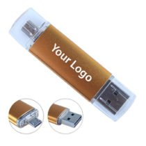 Duo Cap Custom OTG USB Drive