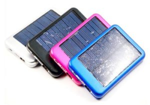 The Solar bar  - Portable Charger