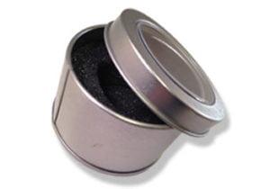 Circle Metal Window Tin