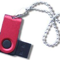 Beaded Keychain for promotional logo usb