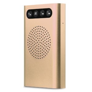 Radar Porable Charger + Bluetooth Speaker