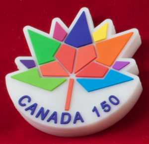 CANADA 150 Round Style USB