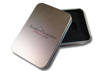 Rectangular Metal Tin