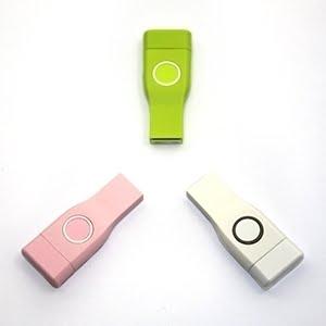 Duo Brite Cap promotional USB flash key