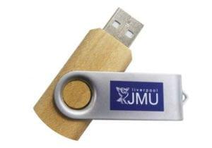 Wood Twister USB Drive