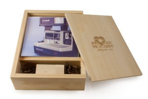 5 x 5 Photo Box for promotional products