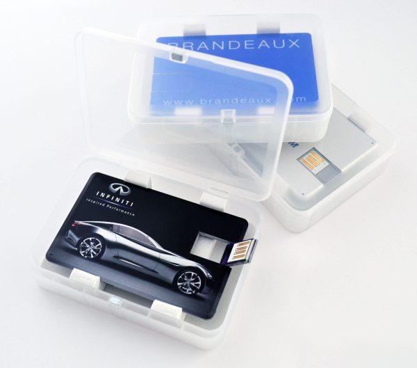 Credit Card 03 Acrylic customized USB Drive
