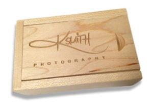 Wood Crate for custom flash memory keys