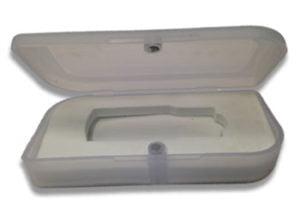 Plastic Magnetic Snap Case
