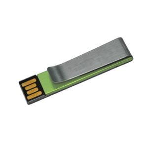 Metal Clip Mini Flat USB Drive