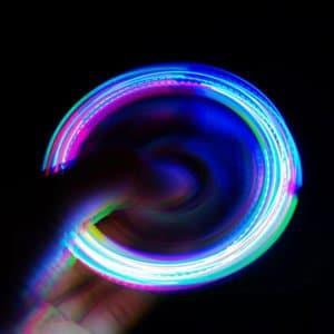 Light Up Hand Spinner