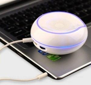 RoundPod custom logo Bluetooth Speaker